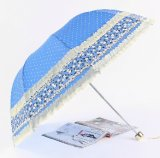 3개의 겹 창조적인 레이스 우산