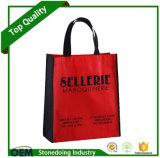 Promozione su ordinazione di Facotry e sacchetto di acquisto non tessuto pieno di colore