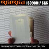 Carte RFID réutilisable imprimable vierge passive de 13,56 MHz pour garde d'entrée