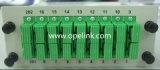 Rectángulo de Lgx del divisor del PLC de la telecomunicación 1X16 de Gpon para Pon/LAN/FTTX