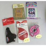 Regalos promocionales papel colgante del perfume del ambientador de aire del coche