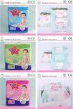 Pañal barato suave disponible del bebé de la buena calidad de la fábrica 2017