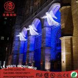 LEDの販売のための白い天使2m*1mの通りの装飾のクリスマスの照明