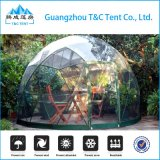 Сараи геодезический купола салона сада домов Китая полуфабрикат