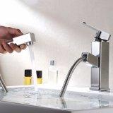 Flg ziehen Badezimmer-Bassin-Chrom-Hahn für Badezimmer aus