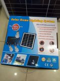 Sistema solare dell'installazione facile per uso domestico con le lampade del LED