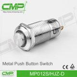 Commutateur à bouton-poussoir en métal de 12 mm (CE TUV)