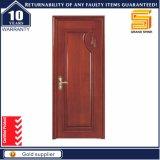 Placage en bois naturel composite chambre design intérieur de porte en bois