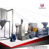 PE/HDPE/LDPE vlokken die de Machine van het Recycling pelletiseren
