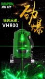 Het Hulpmiddel van het Niveau van de Laser van de Hulpmiddelen van de hand van Niveau Vh800 van de Laser van de Laser Danpon het Groene