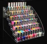 Vernis à ongles en acrylique Tableau Affichage de l'Organiseur de rack (maintenir enfoncé jusqu'à 70 bouteilles)
