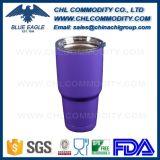 Mug thermo-isolante en acier inoxydable double paroi 30 oz avec couvercle