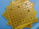 0.5mm黄色いSoldermaskの厚いPCBのボード4layer Fr4