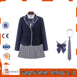Uniforme scolastico europeo di inverno di stile (Jacket+Sweater+Pants)
