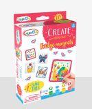 Малыши DIY покрасили Игрушк-Покрашенные искусствоом магниты плиты & холодильника