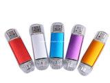 Clé USB OTG métal Pendrive Téléphone USB3.0 mémoire Flash de lecteur Flash USB