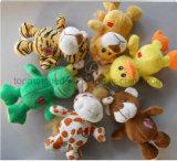 Trousseau de peluche/trousseau en peluche jouet en peluche pour cadeaux promotionnels