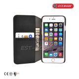 Случай телефона способа кожаный с стойкой Wallet+Phone для различных телефонов