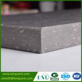 Искусственний серый мраморизуя камень кварца с белыми венами