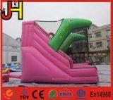 Diapositiva de agua inflable del dinosaurio de la diapositiva inflable del dinosaurio