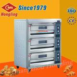Professionnels de l'équipement de boulangerie 3-Plate-forme 6 four électrique du bac de pont