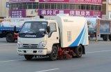 Camion di pulizia della via di vuoto di aspirazione dell'Italia del camion della spazzatrice