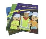 Impresión del libro de niños de la educación para aprender inglés