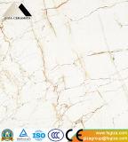 Cararaの大理石の磁器によって磨かれる艶をかけられた床タイル(660301)