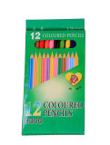 Карандаш пастели цветов пастели 12 оптовой продажи канцелярских принадлежностей школы канцелярские товар