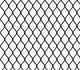 織り方ワイヤーダイヤモンドの網のチェーン・リンクの塀