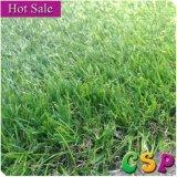 Barato paisaje natural de la alfombra de hierba artificial