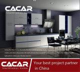 Cabinet de cuisine en laque de vernis à parabole de style moderne Iris Salable (CA01-01)