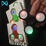 LED Fidget Spinner LED Spinner de mão Fidget Toy Fidgets Spinner de mão para autismo e Adhd