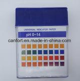 Prueba de pH 1-14 El papel, papel indicador para laboratorios y médicos