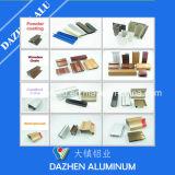 O pó anodizado revestiu o perfil do alumínio 6063 com os preços de venda direta da fábrica