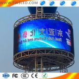 창조적인 디자인을%s 가진 LED 스크린 옥외 광고 발광 다이오드 표시 스크린