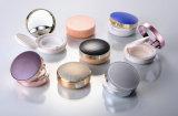 コンパクトな粉の箱を包むプラスチック製品の化粧品