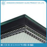 La construcción de conducción al por mayor hueco Transparente plana de cristal templado de seguridad