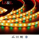 RGB+Amber impermeabili scaldano l'illuminazione della corda dello Striplight LED