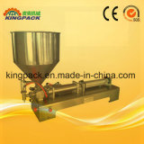 Semi-Automatic Pneumatic Cream Filling Machine