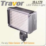La grabación de vídeo con luz LED LED Travor 170PCS (ES-L170)