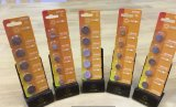 Nicht wiederaufladbare Cr2032 3V 210mAh Lithium-Tasten-Zellen-trockene hauptsächlichbatterie