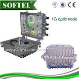 Nó 1GHz ótico Output da fibra do indicador de diodo emissor de luz 4