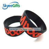 Braccialetto personalizzato del silicone del Wristband di promozione da vendere