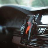 Certificado de Qi magnético inalámbrico Teléfono móvil inalámbrica soporte cargador de coche