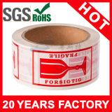 Rotes Firmenzeichen-Acryl druckte verpackenband