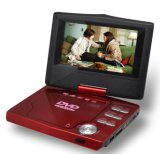 Reproductor de DVD portátil de 7 pulgadas con DVB-S (PD-6774)