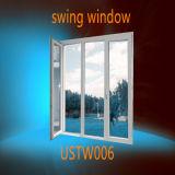 Novo design do vidro isolante duplo Casement PVC Windows