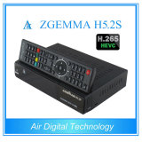 H. 265 Hevc Enigma2 DVB-S2完全なHDのサテライトレシーバとの元のHDの受信機Zgemma H5.2s