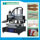 L'écran de soie de l'imprimante à plat pour le nom de la plaque de la machine